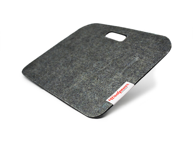 Woolpower Sit Pad M, recycled grey